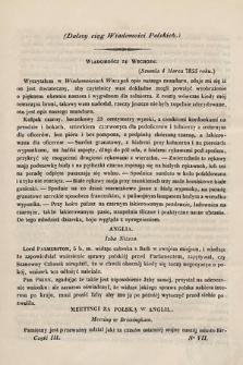 Wiadomości Polskie. R.1, 1855, cz.3, nr7