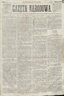 Gazeta Narodowa. 1870, nr1