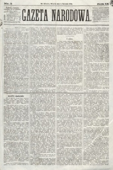 Gazeta Narodowa. 1870, nr3