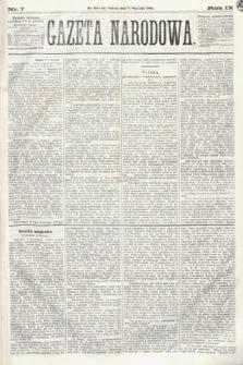Gazeta Narodowa. 1870, nr7