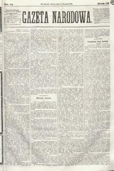 Gazeta Narodowa. 1870, nr14