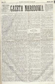 Gazeta Narodowa. 1870, nr17