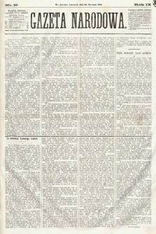 Gazeta Narodowa. 1870, nr19