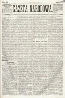 Gazeta Narodowa. 1870, nr20