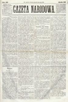 Gazeta Narodowa. 1870, nr22