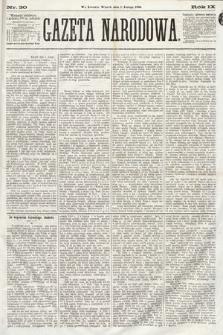 Gazeta Narodowa. 1870, nr30