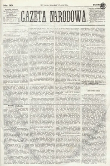 Gazeta Narodowa. 1870, nr33