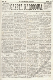 Gazeta Narodowa. 1870, nr37