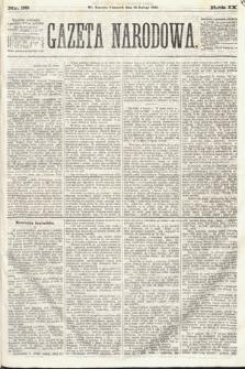 Gazeta Narodowa. 1870, nr39