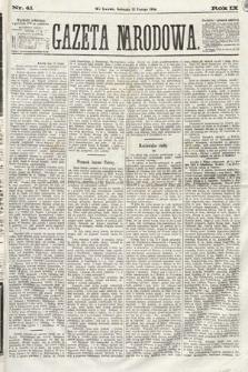 Gazeta Narodowa. 1870, nr41
