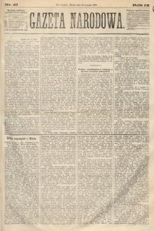 Gazeta Narodowa. 1870, nr45