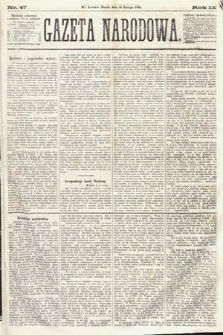 Gazeta Narodowa. 1870, nr47