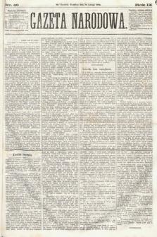 Gazeta Narodowa. 1870, nr49