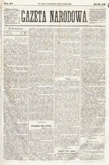 Gazeta Narodowa. 1870, nr57