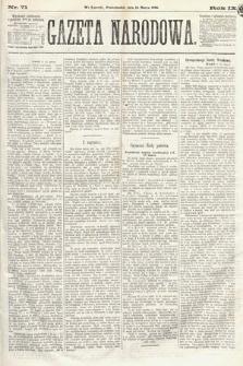 Gazeta Narodowa. 1870, nr71