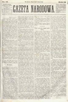 Gazeta Narodowa. 1870, nr75