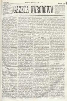 Gazeta Narodowa. 1870, nr76
