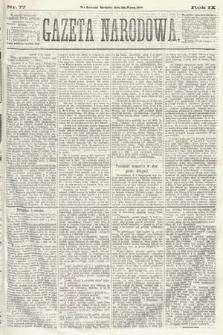 Gazeta Narodowa. 1870, nr77