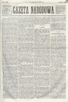 Gazeta Narodowa. 1870