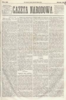 Gazeta Narodowa. 1870, nr83