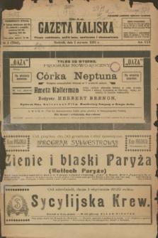 Gazeta Kaliska : pismo codzienne, polityczne, społeczne i ekonomiczne. R.30, № 1 (1 stycznia 1922) = nr 7040