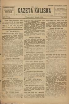 Gazeta Kaliska : pismo codzienne, polityczne, społeczne i ekonomiczne. R.30, № 2 (3 stycznia 1922) = nr 7041