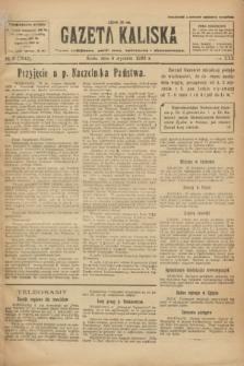 Gazeta Kaliska : pismo codzienne, polityczne, społeczne i ekonomiczne. R.30, № 3 (4 stycznia 1922) = nr 7042