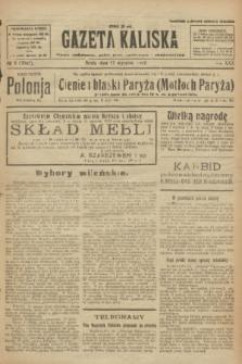 Gazeta Kaliska : pismo codzienne, polityczne, społeczne i ekonomiczne. R.30, № 8 (11 stycznia 1922) = nr 7047