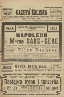 Gazeta Kaliska : pismo codzienne, polityczne, społeczne i ekonomiczne. R.30, № 12 (15 stycznia 1922) = nr 7051