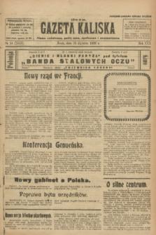 Gazeta Kaliska : pismo codzienne, polityczne, społeczne i ekonomiczne. R.30, № 14 (18 stycznia 1922) = nr 7053