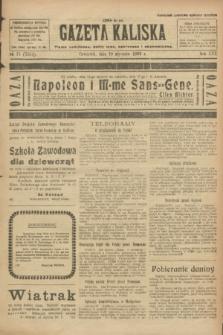 Gazeta Kaliska : pismo codzienne, polityczne, społeczne i ekonomiczne. R.30, № 15 (19 stycznia 1922) = nr 7054
