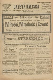 Gazeta Kaliska : pismo codzienne, polityczne, społeczne i ekonomiczne. R.30, № 21 (26 stycznia 1922) = nr 7060