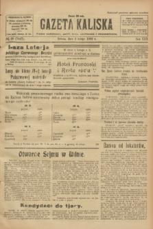 Gazeta Kaliska : pismo codzienne, polityczne, społeczne i ekonomiczne. R.30, № 28 (4 lutego 1922) = nr 7067