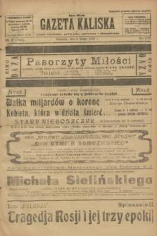 Gazeta Kaliska : pismo codzienne, polityczne, społeczne i ekonomiczne. R.30, № 29 (5 lutego 1922) = nr 7076