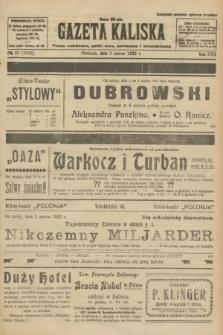 Gazeta Kaliska : pismo codzienne, polityczne, społeczne i ekonomiczne. R.30, № 53 (5 marca 1922) = nr 7092