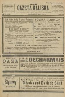 Gazeta Kaliska : pismo codzienne, polityczne, społeczne i ekonomiczne. R.30, № 65 (19 marca 1922) = nr 7104