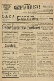 Gazeta Kaliska : pismo codzienne, polityczne, społeczne i ekonomiczne. R.30, № 68 (23 marca 1922) = nr 7107