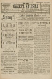 Gazeta Kaliska : pismo codzienne, polityczne, społeczne i ekonomiczne. R.30, № 77 (4 kwietnia 1922) = nr 7116