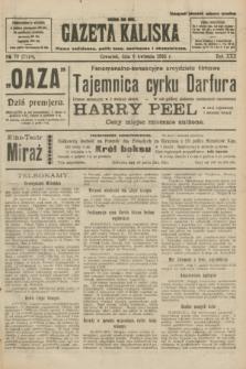 Gazeta Kaliska : pismo codzienne, polityczne, społeczne i ekonomiczne. R.30, № 79 (6 kwietnia 1922) = nr 7118