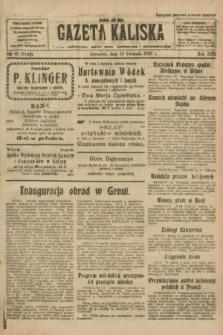 Gazeta Kaliska : pismo codzienne, polityczne, społeczne i ekonomiczne. R.30, № 85 (13 kwietnia 1922) = nr 7124
