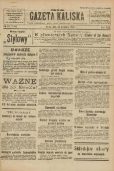 Gazeta Kaliska : pismo codzienne, polityczne, społeczne i ekonomiczne. R.30, № 94 (26 kwietnia 1922) = nr 7133