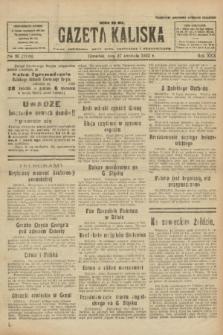 Gazeta Kaliska : pismo codzienne, polityczne, społeczne i ekonomiczne. R.30, № 95 (27 kwietnia 1922) = nr 7134