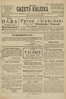 Gazeta Kaliska : pismo codzienne, polityczne, społeczne i ekonomiczne. R.30, № 96 (28 kwietnia 1922) = nr 7135