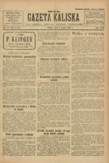 Gazeta Kaliska : pismo codzienne, polityczne, społeczne i ekonomiczne. R.30, № 101/102 (5 maja 1922) = nr 7140