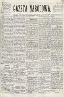 Gazeta Narodowa. 1870, nr100