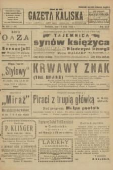 Gazeta Kaliska : pismo codzienne, polityczne, społeczne i ekonomiczne. R.30, № 109 (14 maja 1922) = nr 7148