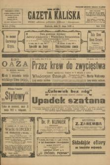 Gazeta Kaliska : pismo codzienne, polityczne, społeczne i ekonomiczne. R.30, № 115 (21 maja 1922) = nr 7154