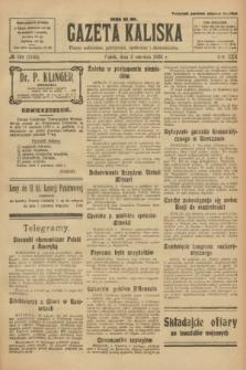 Gazeta Kaliska : pismo codzienne, polityczne, społeczne i ekonomiczne. R.30, № 124 (2 czerwca 1922) = nr 7163