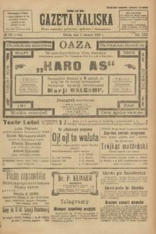 Gazeta Kaliska : pismo codzienne, polityczne, społeczne i ekonomiczne. R.30, № 125 (3 czerwca 1922) = nr 7164
