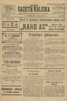 Gazeta Kaliska : pismo codzienne, polityczne, społeczne i ekonomiczne. R.30, № 128 (8 czerwca 1922) = nr 7167